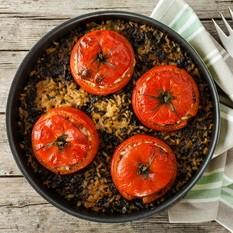 Nadziewamy makaronem - nadziewane papryki faszerowane pomidory przepis makaron